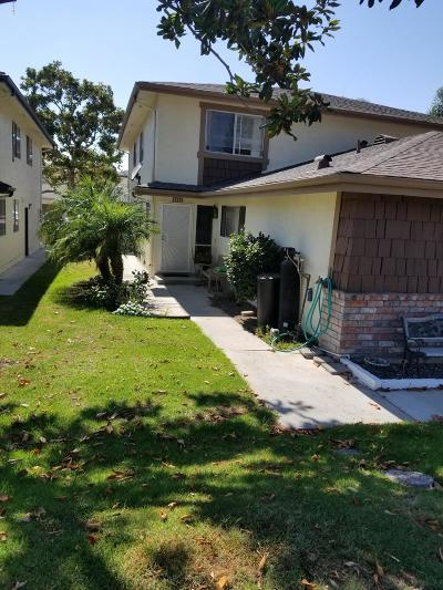 Ventura CA Single Family Home For Sale: $308,000