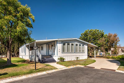 Moorpark Mobile Home For Sale: 15750 Arroyo Drive #181