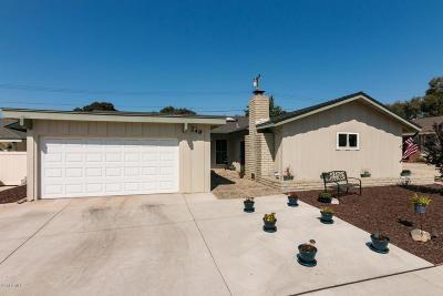 Ventura CA Single Family Home For Sale: $625,000