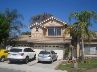 Fillmore Single Family Home Active Under Contract: 331 Dove Court