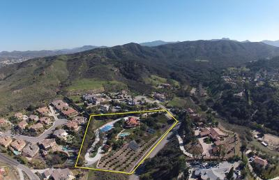 Thousand Oaks Single Family Home For Sale: 444 Saddle Trail