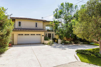 Ventura Single Family Home For Sale: 1776 Vista Del Mar Drive