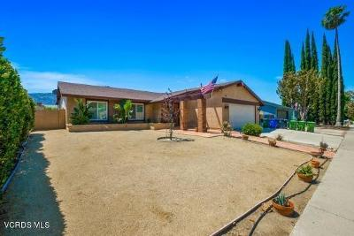 Simi Valley Single Family Home For Sale: 6180 Centinella Street