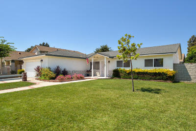 Camarillo Single Family Home Active Under Contract: 127 Ripley Street