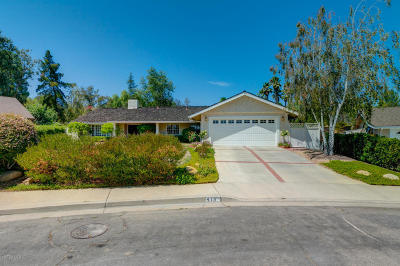 Ojai Single Family Home For Sale: 413 Stuart Court