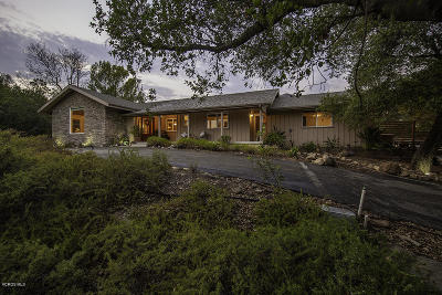 Ojai Single Family Home For Sale: 514 Vista Hermosa Drive