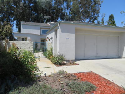 Ventura Single Family Home For Sale: 909 Sapphire Circle
