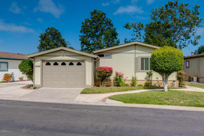 Oxnard Mobile Home Active Under Contract: 2480 Dewberry Lane #110