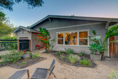 Ojai Single Family Home Active Under Contract: 127 S Encinal Avenue