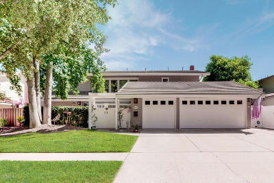 Westlake Village Single Family Home For Sale: 2114 Bridgegate Court