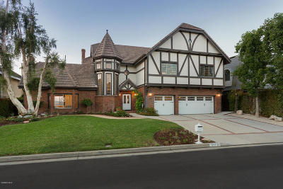 Westlake Village Single Family Home For Sale: 3475 Ridgeford Drive