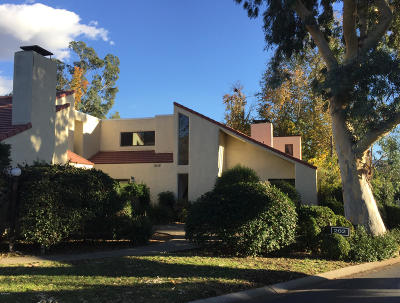Ojai Condo/Townhouse For Sale: 202 Carillo Road #D