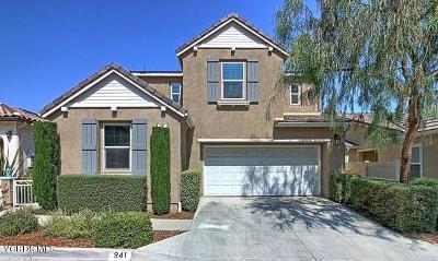 Santa Paula Single Family Home For Sale: 941 Coronado Circle