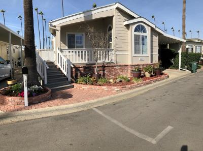 Ventura Mobile Home Active Under Contract: 1215 Anchors Way Drive #169