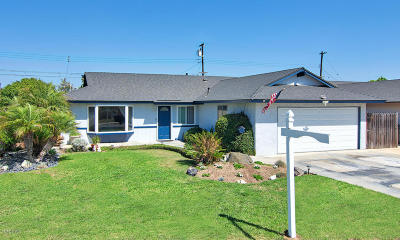 Port Hueneme Single Family Home Active Under Contract: 1462 Park Avenue
