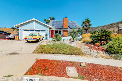 Newbury Park Single Family Home For Sale: 3285 W Felton Street