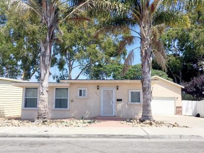 Port Hueneme Single Family Home For Sale: 244 Willowbrook Street