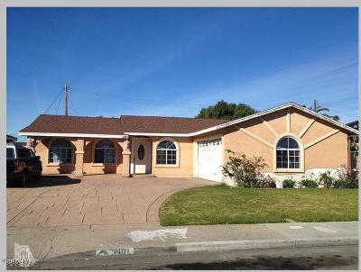 Oxnard Single Family Home For Sale: 3401 S D Street
