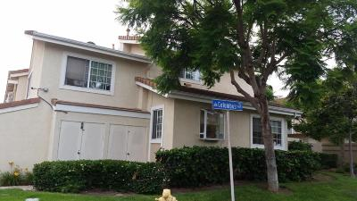 Oxnard Condo/Townhouse For Sale: 5339 Columbus Place