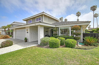 ventura Single Family Home Active Under Contract: 2962 Surfrider Avenue