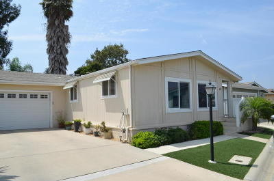 Ventura County Single Family Home Active Under Contract: 975 W Telegraph Road #49