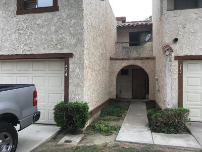 Oxnard Condo/Townhouse For Sale: 264 E Bard Road