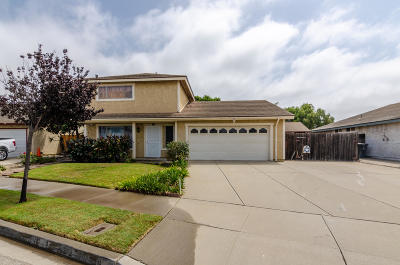 Oxnard Single Family Home Active Under Contract: 914 Taffrail Court