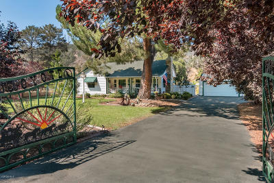 Ventura Single Family Home For Sale: 1105 Casitas Vista Road