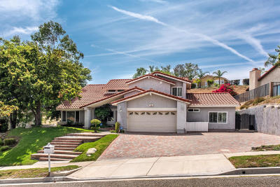 Simi Valley Single Family Home For Sale: 5665 Maricopa Drive
