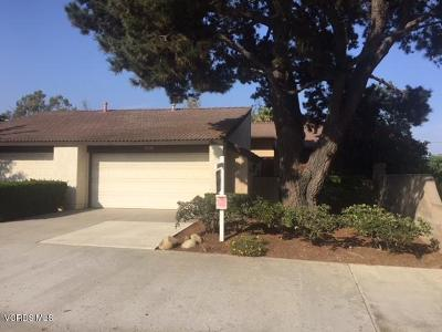 Ventura Condo/Townhouse For Sale: 10439 Corvallis Court