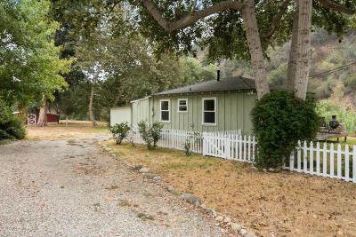Ventura Single Family Home Active Under Contract: 40 Casitas Vista Road