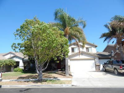 Oxnard Single Family Home For Sale: 2024 Domar Place