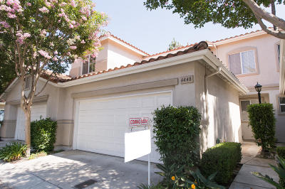 Camarillo Condo/Townhouse For Sale: 4448 Calle Argolla