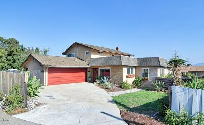 Camarillo Single Family Home For Sale: 10 Alosta Drive