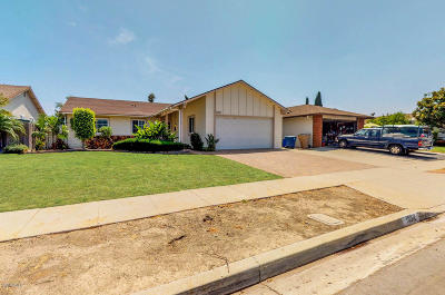 Ventura Single Family Home For Sale: 10312 Jamestown Street