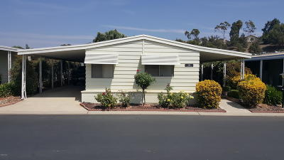 Camarillo Mobile Home For Sale: 188 Rancho Adolfo Drive #120