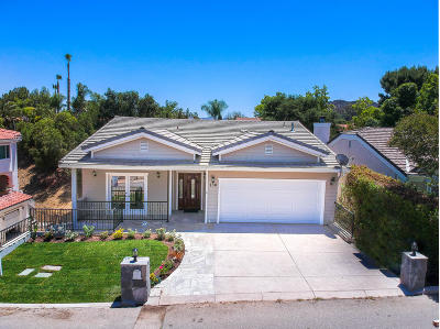 Newbury Park Single Family Home For Sale: 138 Heavenly Valley Road