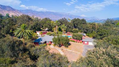 Ojai Single Family Home Active Under Contract: 516 Palomar Road