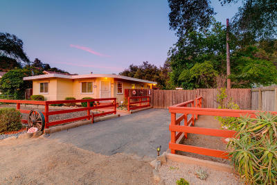 Ojai Single Family Home For Sale: 150 S La Luna Avenue
