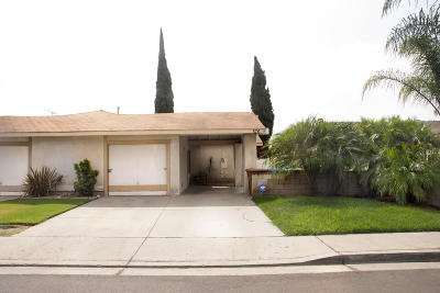 Ventura County Single Family Home Active Under Contract: 576 Salas Street