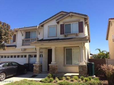 Oxnard Single Family Home For Sale: 5486 Dunbar Drive