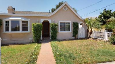 Santa Paula Single Family Home For Sale: 438 Mill Street
