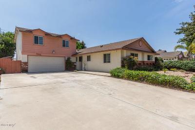 Camarillo Single Family Home Active Under Contract: 2868 Berwick Street