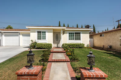 Simi Valley Single Family Home For Sale: 1572 Moreno Drive
