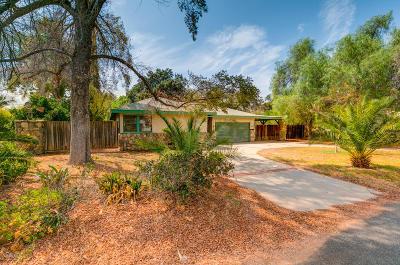 Ojai Single Family Home For Sale: 381 Avenida De La Vereda