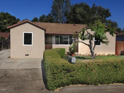 Ojai Single Family Home For Sale: 109 Felix Drive