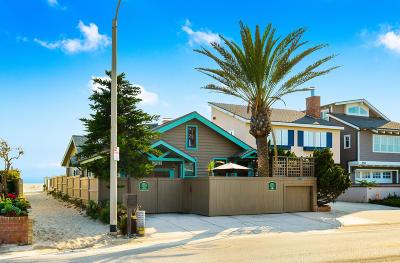 Oxnard Single Family Home Active Under Contract: 2001 Ocean Drive