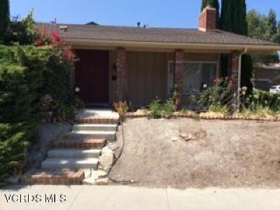 Thousand Oaks Single Family Home For Sale: 1924 Brooktree Court