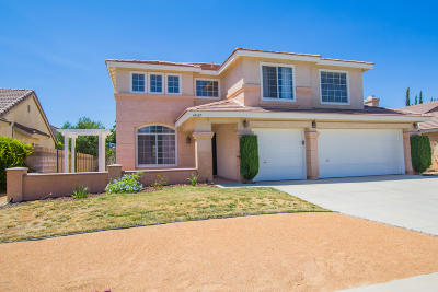 Lancaster CA Single Family Home Active Under Contract: $334,500