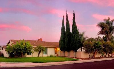 Camarillo Single Family Home For Sale: 2104 Dexter Street